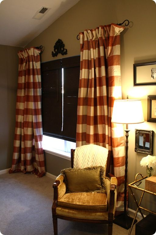 Best 25 short curtain rods ideas on pinterest shower - Long or short curtains in living room ...