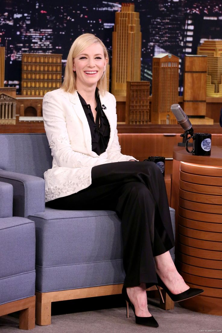 The Tonight Show Starring Jimmy Fallon - January 23rd, 2017 - Stills - 006 - Cate Blanchett Fan | Cate Blanchett Gallery