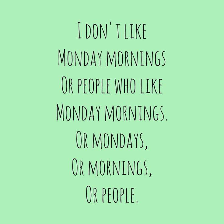 Mondays Are Like Quotes. QuotesGram