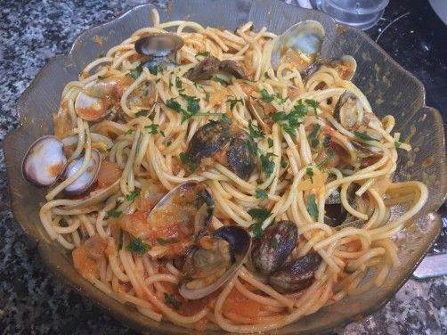 Salsa marinera para pasta para #Mycook http://www.mycook.es/receta/salsa-marinera-para-pasta/