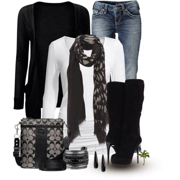 This is such a cute outfit for fall!!