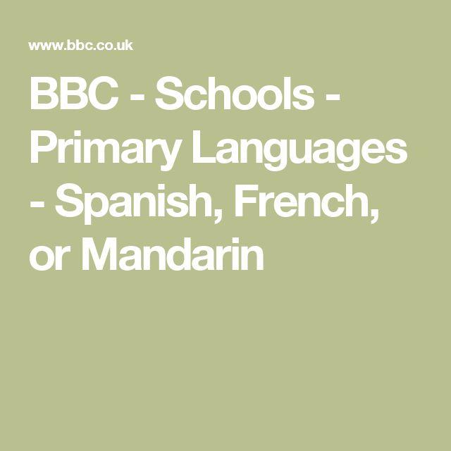 BBC - Schools - Primary Languages - Spanish, French, or Mandarin