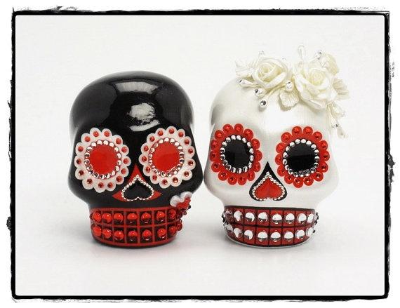 Sugar Skull Cake Decorations