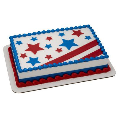 30 best red white and blue images on pinterest cake for American flag cake decoration