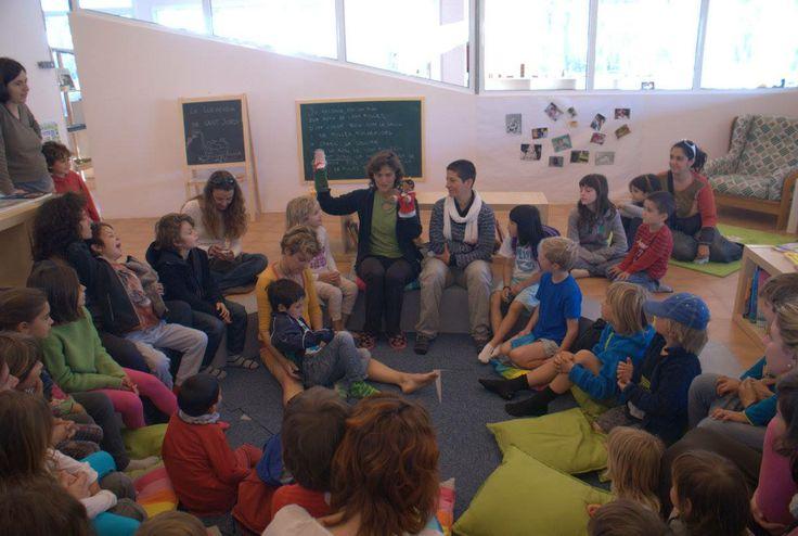 Sant Jordi 2014. L'hora del conte amb famílies i acompanyants