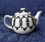 Tatted Tea Pot 0609