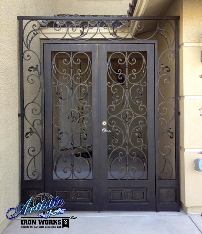 Locked Door Foyer Bonfire : Best images about wrought iron entryways on pinterest