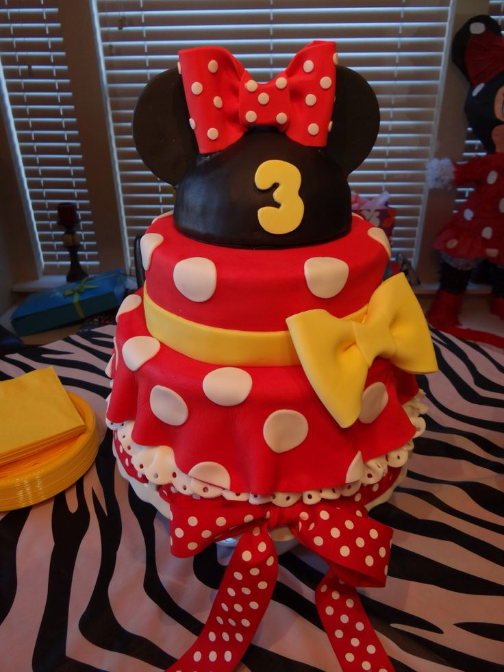 Mini Mouse Cake Zoila S Fancy Cakes Mini Mouse Cake