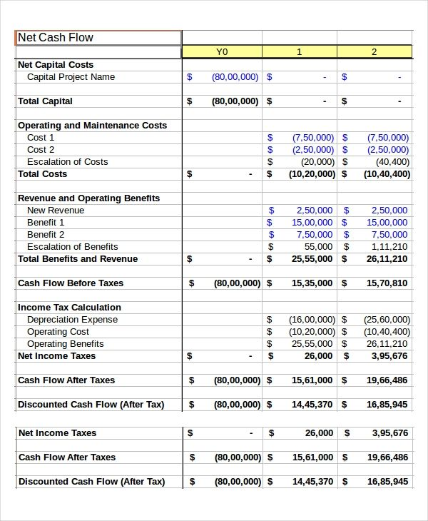 15 Cash Sheet Templates With Images Cash Flow Statement Cash