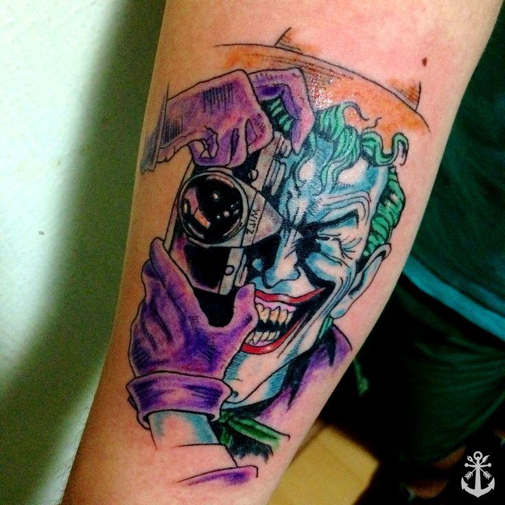 The 25 best dc tattoo ideas on pinterest batman joker for Joker batman tattoo