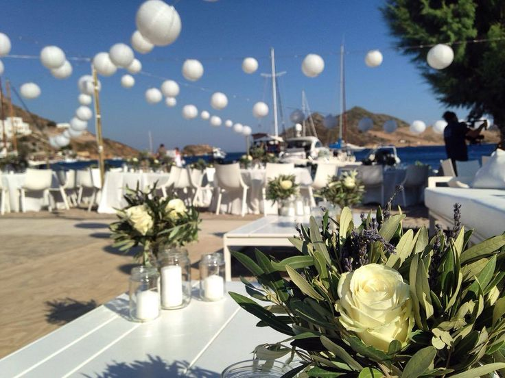 Wedding in Patmos Aktis, July 5th.. From Turkey with love !