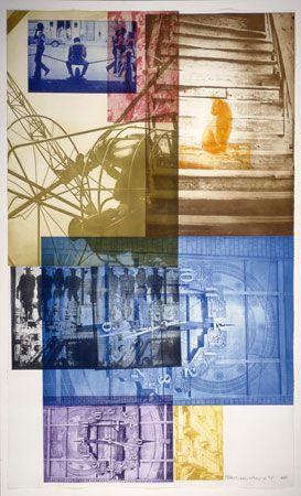Robert Rauschenberg, American, born 1925 Soviet/American Array III, 1988 photogravure on wove paper National Gallery
