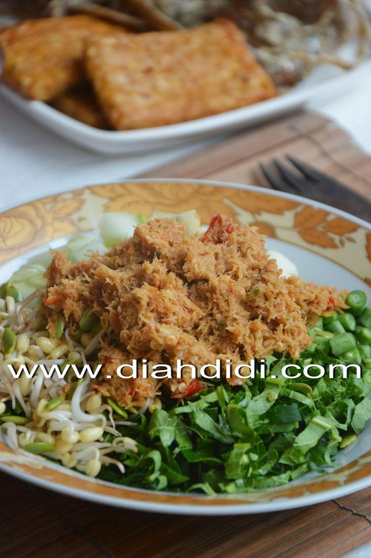 Diah Didi's Kitchen: Urap Mentah