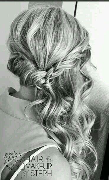 Bildergebnis für halboffene frisur seitlich elegant – #Bildergebnis #elegant #Frisur #für #halboffene