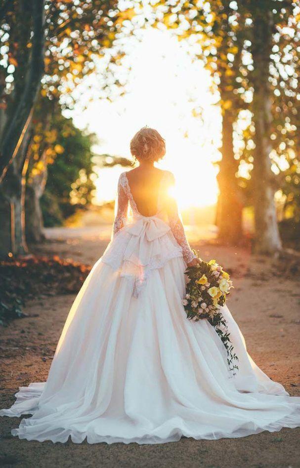 Ni ellas tuvieron un vestido tan bonito el día de su boda.