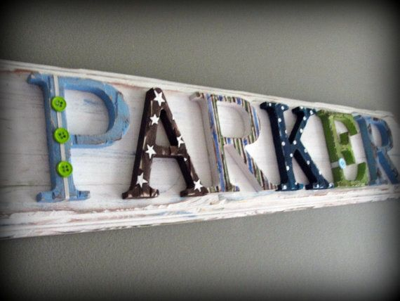 217 best namesare written in the lambs book of life in order to 6 letter custom name plaque sign dwell studio outter space rocket theme made to order for your decor style and taste negle Images