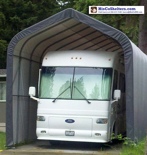 Shelter Logic Portable RV Garage Shelters. **Sizes from 15 ...