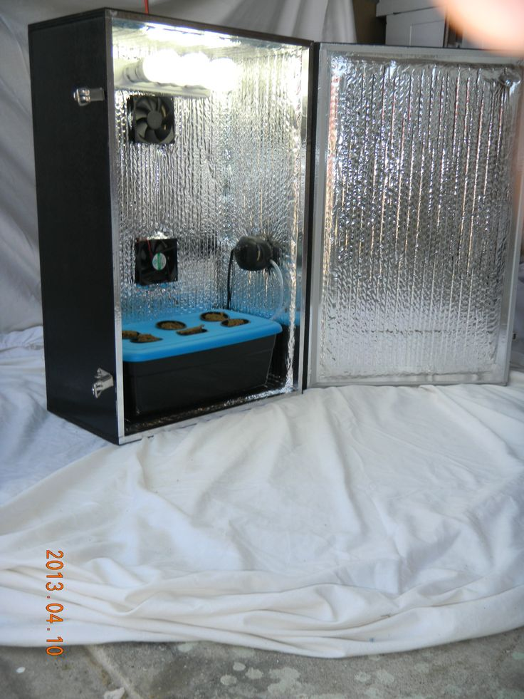 Hydroponic Grow Box A Stealth Grow Box Is The Greatest Way To Stealth  Growing In Your Home. Find This Pin And More On Grow Room Design ... Part 53