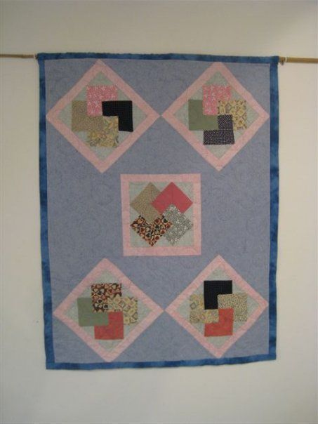 """Wall hanging quilt """" Structure"""""""