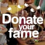 """Famosos doam mais de 24 milhões de fãs para crianças do GRAACC - o """"fazer acontecer"""" q vale a pena..!"""