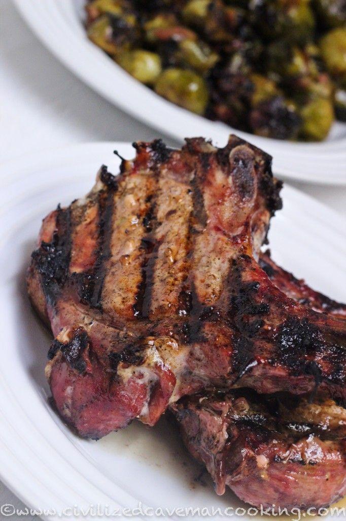 Paleo Slow Smoked Pork Spareribs