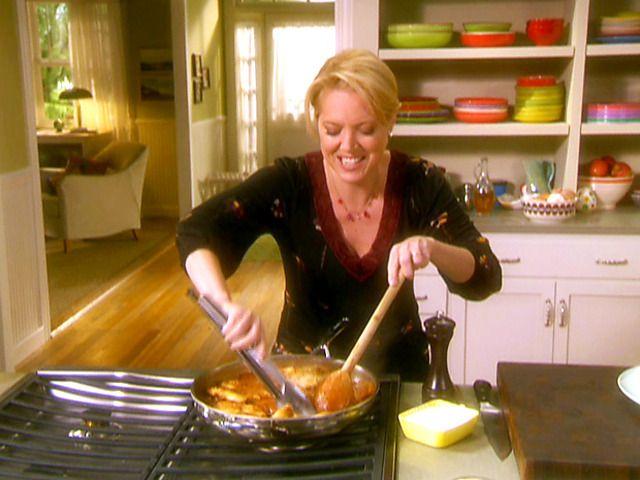4-Step Chicken Marengo Recipe : Melissa d'Arabian : Food Network