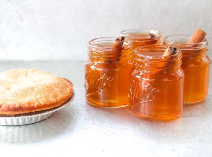 These Apple Pie Bourbon Shots Taste Like Fall In a Glass  - Delish.com