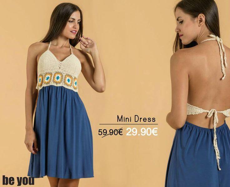 For breezy Summer days...  Φόρεμα > http://goo.gl/ULFVJ4 #minidress #beyoucomgr #sale #stylish #fashion