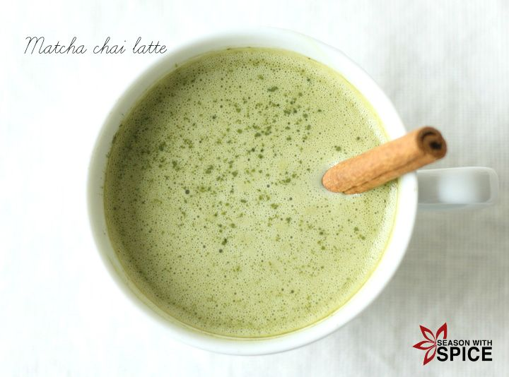 Season with Spice - an Asian Spice Shop: Matcha Chai Latte
