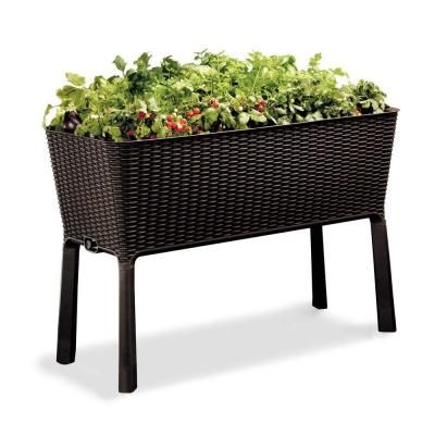 Keter Easy Grow Elevated Garden Bed-212157 - The Home Depot