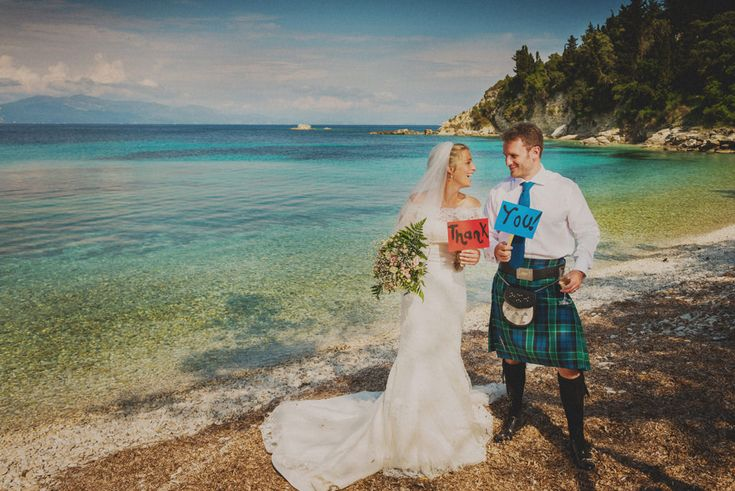 A traditional scottish wedding in Paxos island | Creative Wedding Photography & Cinematography | Destination Wedding Photography and Cinematography Greece | Wedding Photography Greece | Nikos Psathoyiannakis - George Kasionis