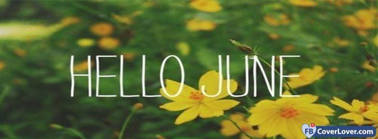 Hello June Daffodils - cover photos for Facebook - Facebook cover photos - Facebook cover photo - cool images for Facebook profile - Facebook Covers - FBcoverlover.com/maker