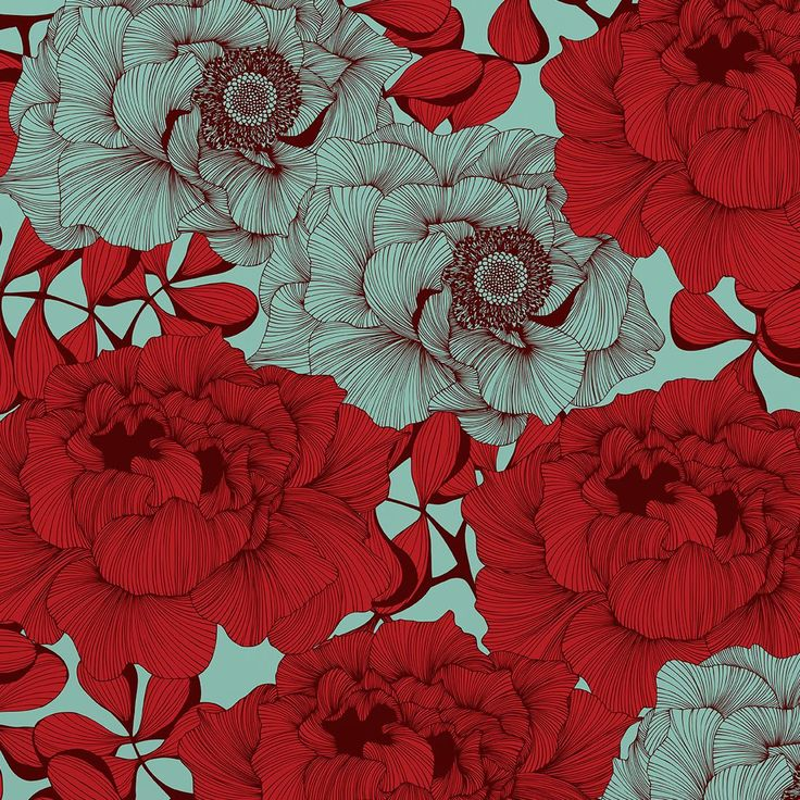 Best 25 red wallpaper ideas on pinterest - Bat and poppy wallpaper ...