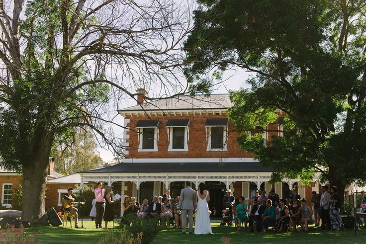 Documentary wedding photography at the historic Perricoota Station Homestead.