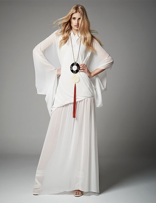 AYU Transformable Sleeved Dress  Necklace MARIA MASTORI FOR 180DEGREES