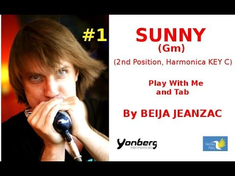 How to play Sunny (2nd Position) Gm-Yonberg Harmonica -BEIJA JEANZAC - YouTube