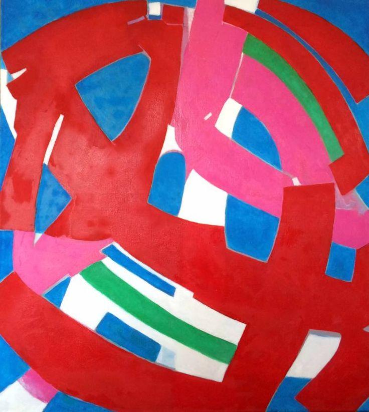 "Saatchi Art Artist Joanna Stein; Painting, ""Red"" #art"