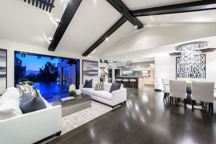 Calvin Harris Los Angeles Mansion - Tour Calvin Harris's Sunset Strip House