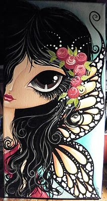 Make Art & Live Happy...painting by Megan K. Suarez