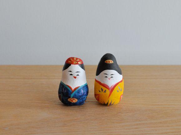 琉球張り子『起き雛』- 豊永 盛人 (玩具ロードワークス) - CARGO web shop