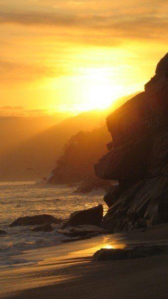 Good morning! Sunrise Puerto Vallarta, Mexico. Photo by Masha. #Travel #Sun #Beach #PuertoVallarta #Mexico