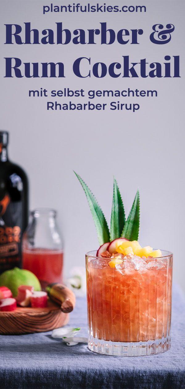 Tolles Cocktail Rezept Fur Den Sommer Mit Selbst Gemachtem Rhabarber Sirup Auch Zuckerfrei Moglich Das Beste Som Rhabarber Rhabarber Rezepte Coctail Rezepte