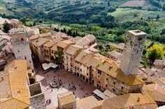 San Gimignano: Herrlich urlauben in der Toskana
