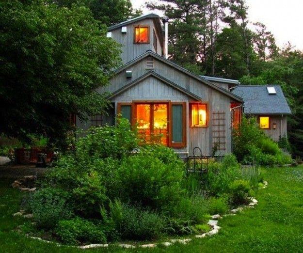 Oltre 25 fantastiche idee su case di legno piccole su for Piccole idee di baite