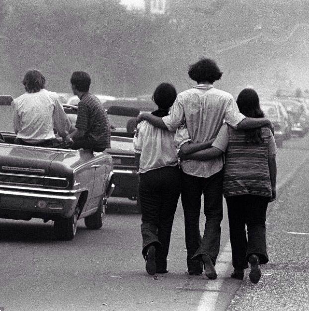 U.S. Heading to Woodstock, 1969