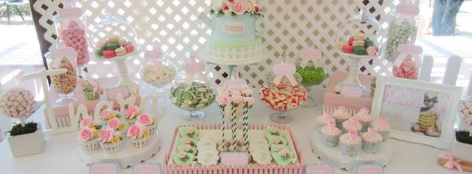 Rose Garden Themed 1st Birthday a joint collaboration with Cakes by Joanne Charmand and The White Room Photography