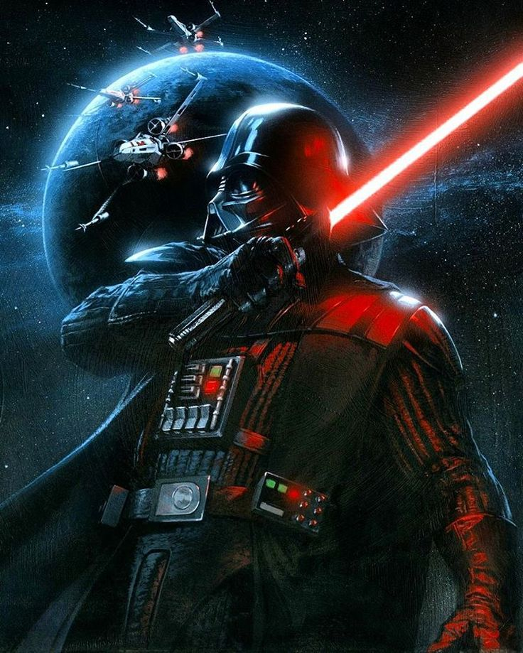 Star Wars Lore в Instagram: «~ Darth Vader, Dark Lord Of The Sith • Follow @StarWars_Siths for awesome artwork from our favorite galaxy far, far away...  »