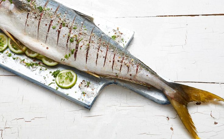 Braaied Yellowtail: Its the fishermans job to be cold, we can warm up with this amazing winter white wine recipe. Recipes to pair with white wines  #fish #yellowtail #fishbraai