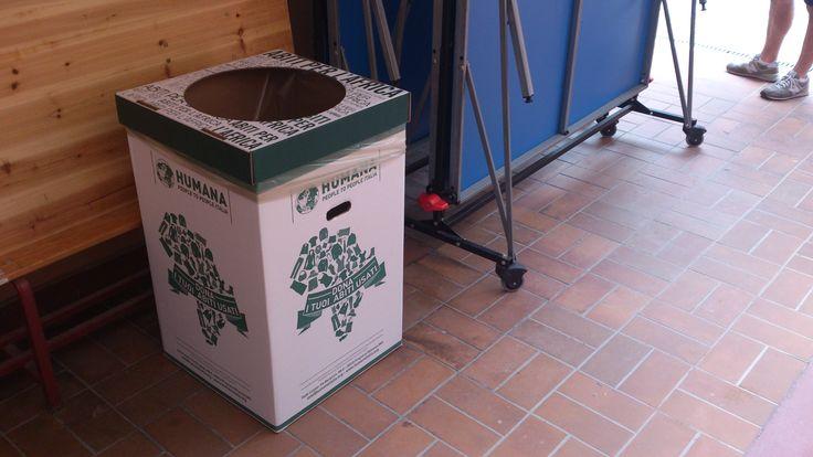 Donando i tuoi abiti usati in uno dei nuovi Ecobox presenti nei Negozi Solidali del centro di Milano, Torino e Brescia, sosterrai gli obiettivi sociali e ambientali di HUMANA