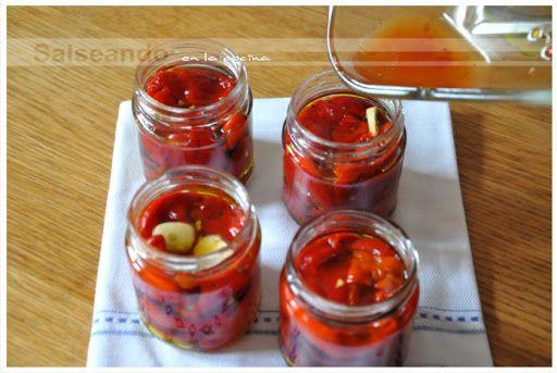 Salseando en la cocina: Pimientos de Piquillo. Cultivo y conserva en casa.